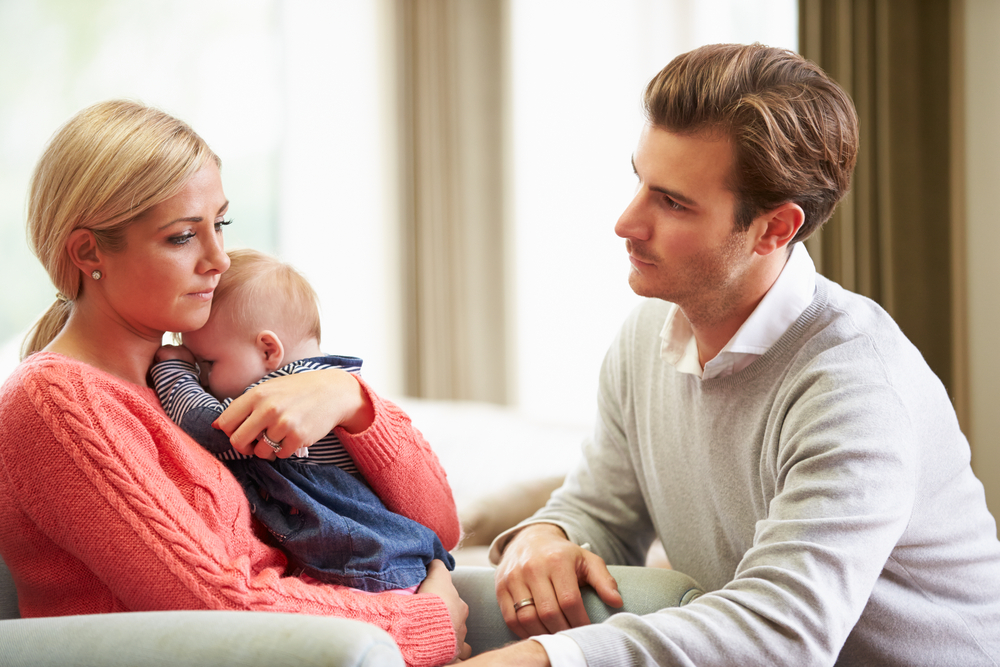 How A Husband Can Help with Postpartum Depression