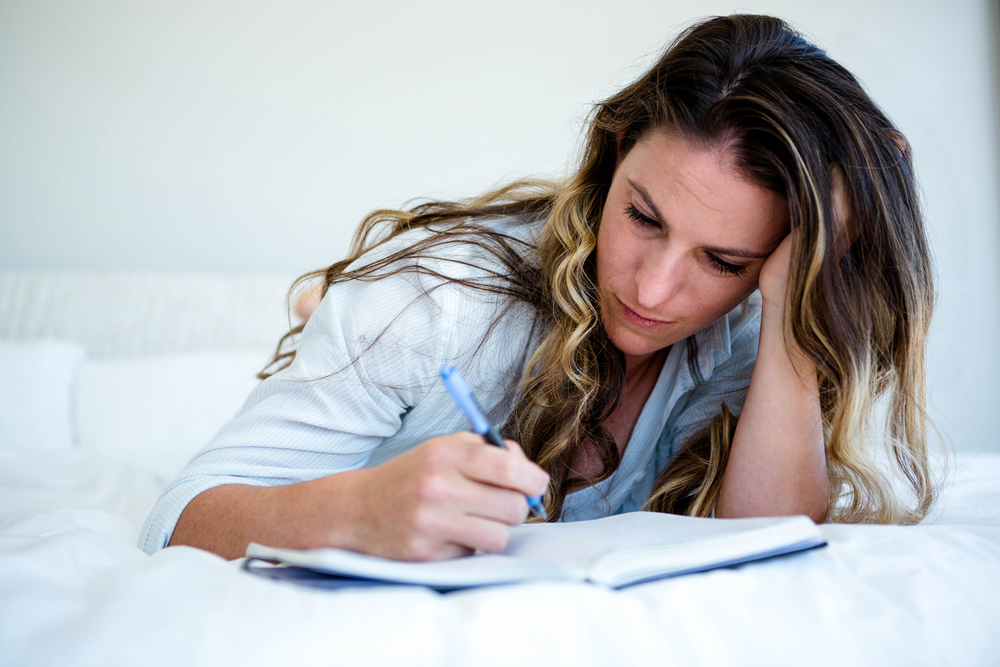 What To Do When Depression Gets Worse In The Evening Write Down Your Worries And Put Them Aside